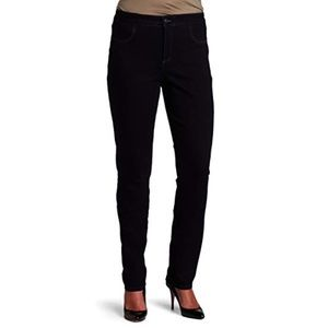 Not Your Daughters Jeans Black Straight Leg Pants
